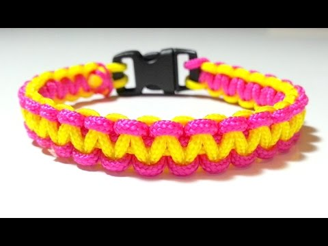 DIY Comment faire un bracelet Paracord Créacord , Duration 1821. tagadanail 98,027 views