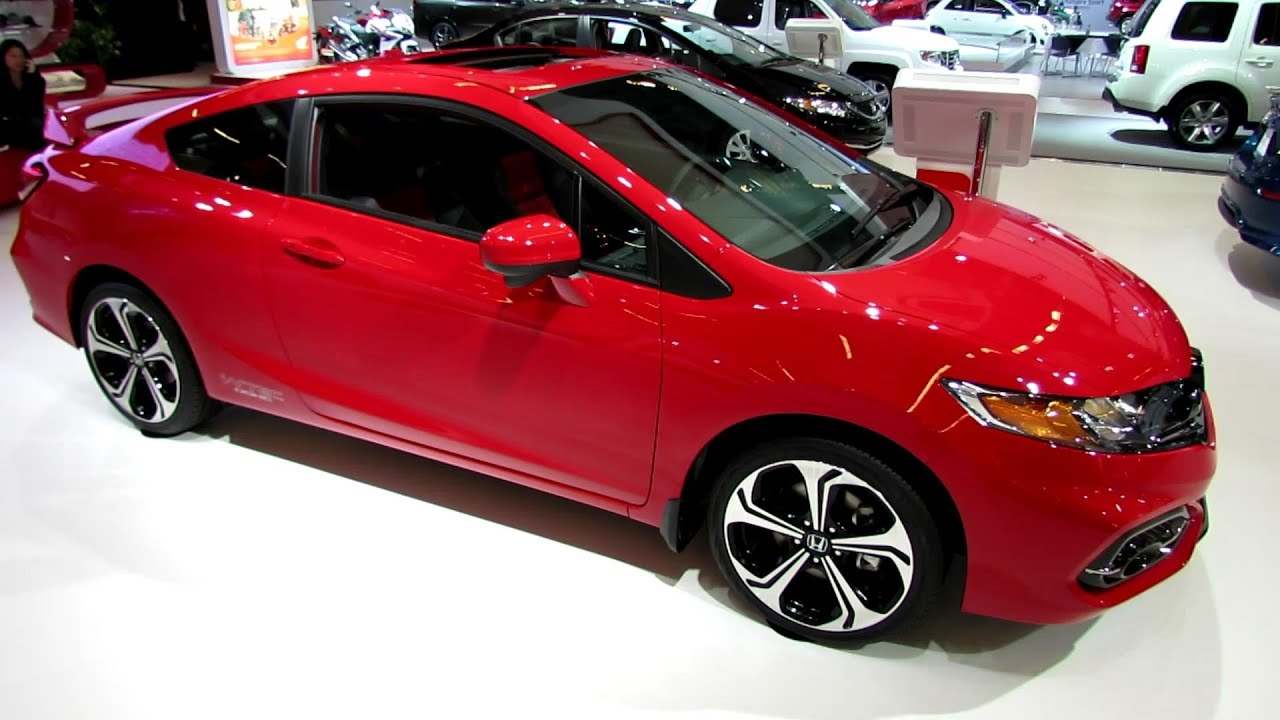 2014 honda civic si coupe exterior and interior walkaround 2014 montreal auto show youtube. Black Bedroom Furniture Sets. Home Design Ideas