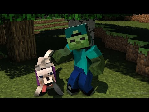 FRIENDLY ZOMBIE MARK GETS A NEW PET In Minecraft !