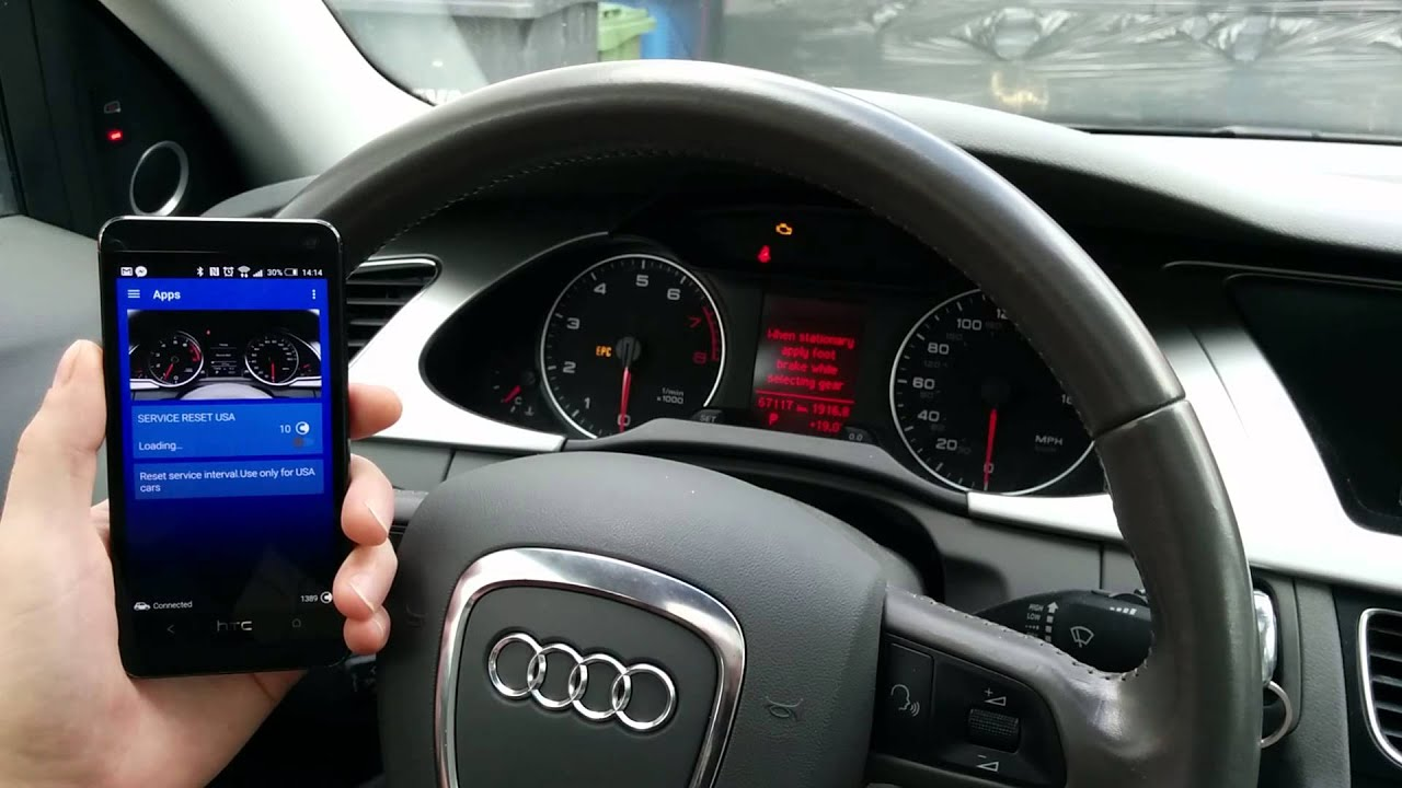 Audi A A Q USA Service Interval Reset YouTube - Audi a4 maintenance schedule