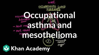 Occupational asthma and mesothelioma | Respiratory system diseases | NCLEX-RN | Khan Academy