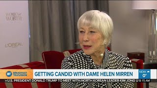 A chat with Dame Helen Mirren on female self worth