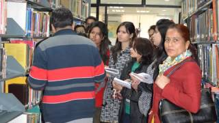 STUDY TOUR OF LIBRARY STUDENTS OF ITM TO WADIA INSTITUTE OF HIMALAYAN GEOLOGY LIBRARY
