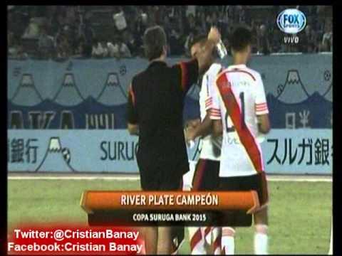 Gamba Osaka 0 River 3 (Relato Mariano Closs)   Suruga Bank 2015