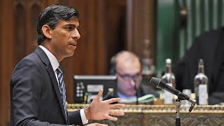 video: Chancellor Rishi Sunak tells of 'hard choices' as he axes furlough scheme