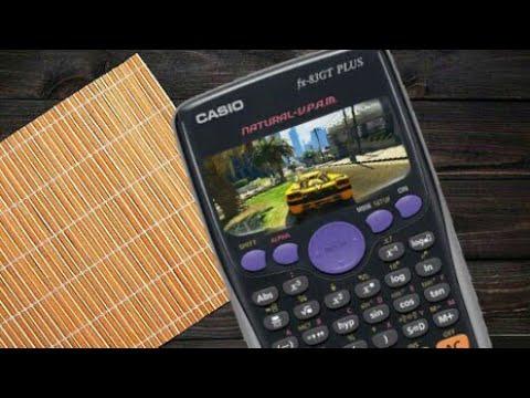 Play GTA V in calculator - YouTube