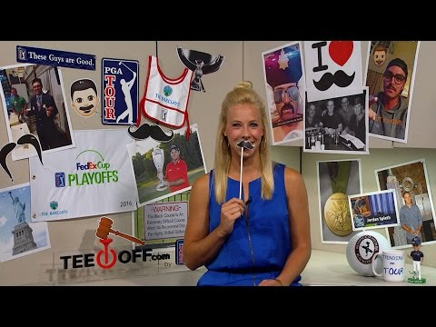 Trending on TOUR | Reed breaks the NYSE gavel, mustaches & Spieth's NYC tour