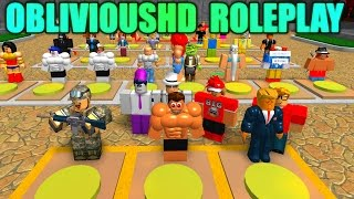 [ROBLOX: ObliviousHD Roleplay World] - Lets Play/Review - The Ultimate Roleplay Game!