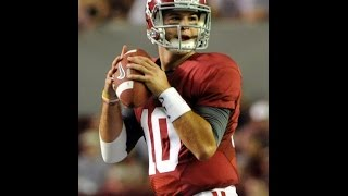 All-Saban Decade Team - Quarterback / Greg McElroy, AJ McCarron, Jake Coker, Blake Simms