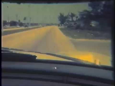 Driving Around Boca Raton c. 1964
