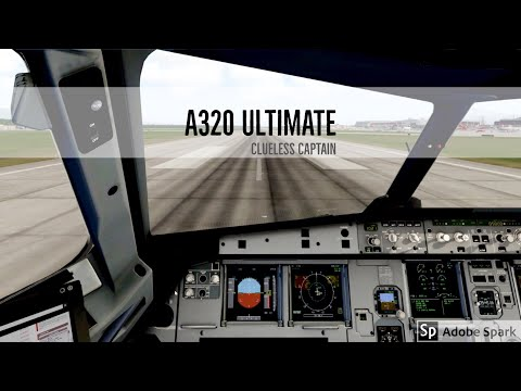 (X-Plane 11) Geneva to Frankfurt | Flight Factor A320 Ultimate