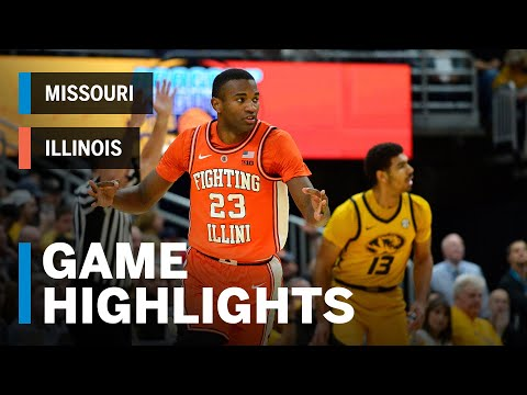 Highlights: Missouri vs. Illinois | Big Ten Basketball