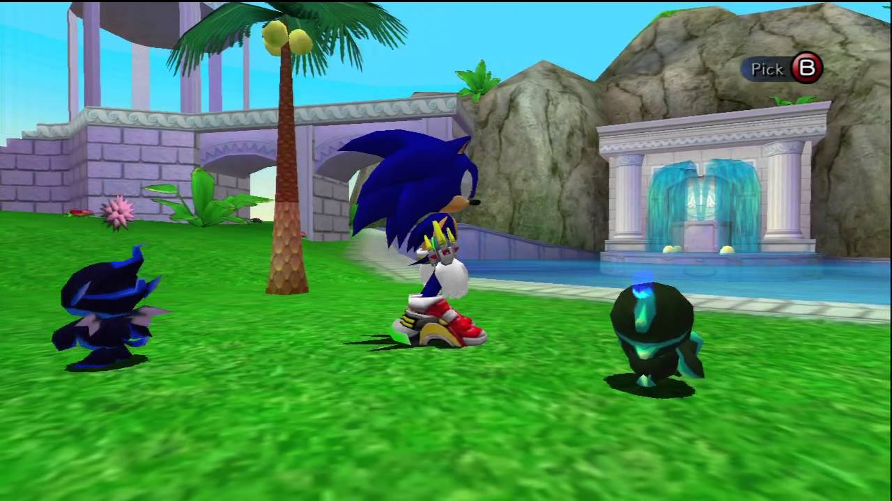 Sonic Adventure 2: Chao Garden Different Types of Chaos