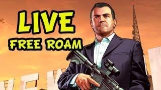 GTA 5 - LIVESTREAM - Free Roam Fun [no spoilers] - RECORDED VERSION