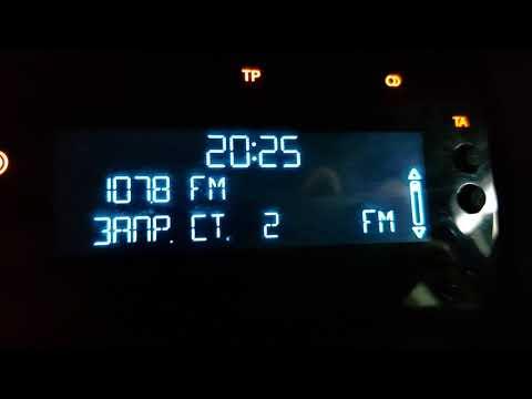 Функции AF, TA/TP на аудиосистеме Фокус3