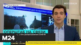 В России за сутки зарегистрировали 6060 новых случаев коронавируса - Москва 24
