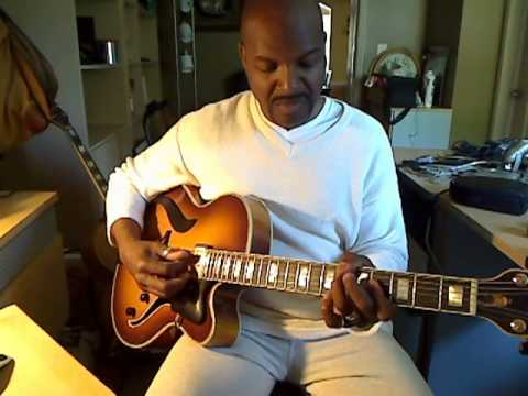 Bobby Broom, solo guitar - I'll Never Fall In Love Again