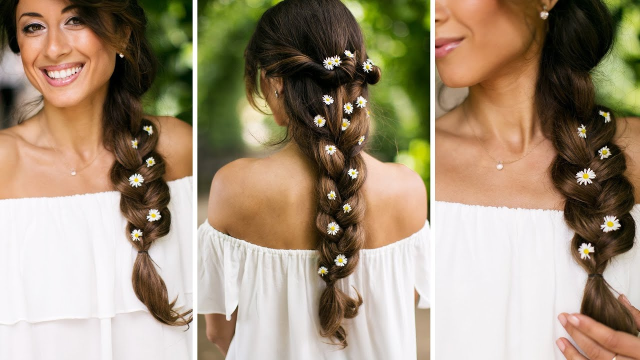 Greek goddess hair tutorial