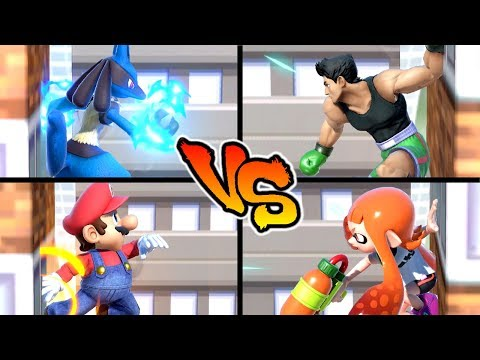 Super Smash Bros. Ultimate - Who has the Best Wall Jump? thumbnail
