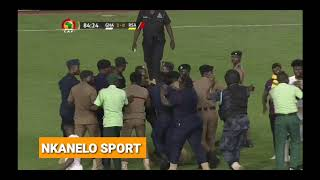 CATCH ME IF YOU CAN | Security Struggle To Catch A Pitch Invader During Ghana VS South Africa AFCON