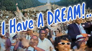 I Have A Dream - Giga Papaskiri (Original Mix) On Speech By Martin Luther King Jr Full HD Colored