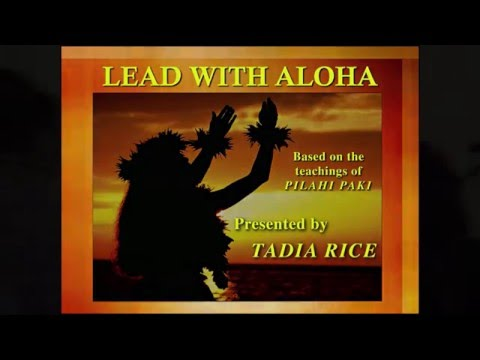 Excerpt Lead With Aloha keynote speech