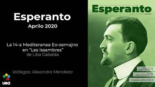 """Voĉlegita Esperanto nr-o 4 2020 p. 90 - La 14-a Mediteranea Eo-Semajno en """"Les Issambres"""""""