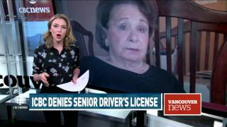 CBC News: ICBC refused to renew woman's driver's license