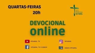 Devocional Online - Quarta 16/06/21 - Rev. Célio Miguel
