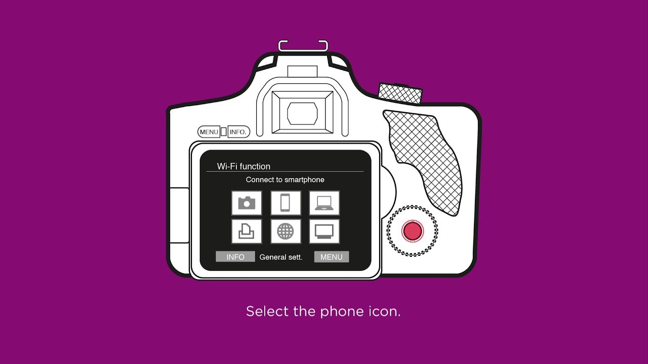 how to connect your dslr camera to a smartphone or tablet. Black Bedroom Furniture Sets. Home Design Ideas