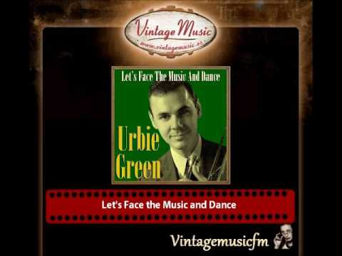 URBIE GREEN CD Vintage Jazz Swing Orchestra. Let's Face The Music And Dance
