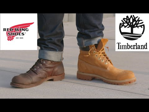 RED WING VS TIMBERLAND - Which Is the