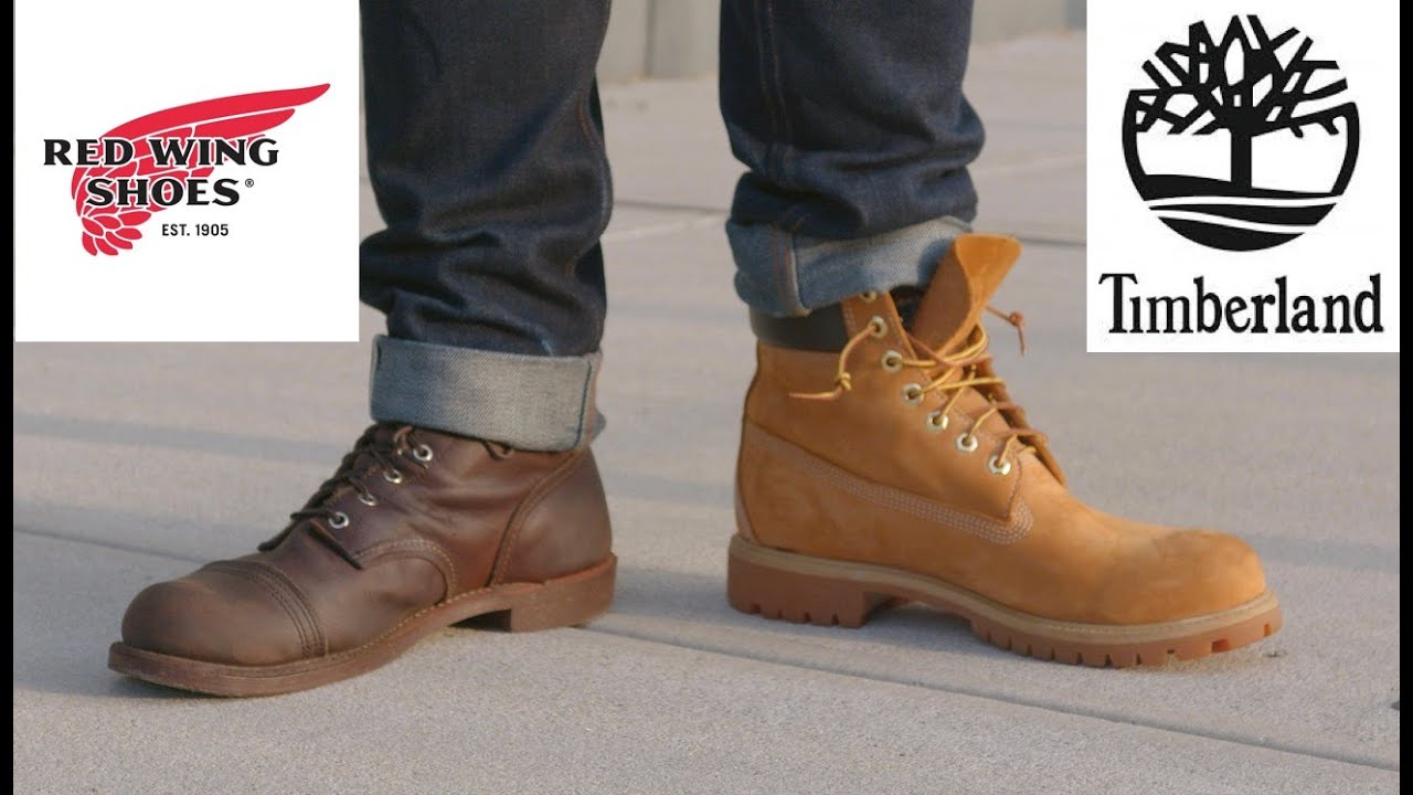 mundo Marty Fielding Ewell  Red Wing vs Timberland - Which Is the Better Boot? - stridewise.com