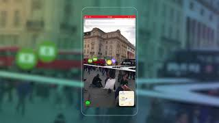 Bienvenue à 'AR' Ville: la Bêta de Réalité Augmentée, de Cartes et de Navigation par Blippar