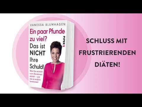 Das neue Diätbuch von Vanessa Blumhagen!