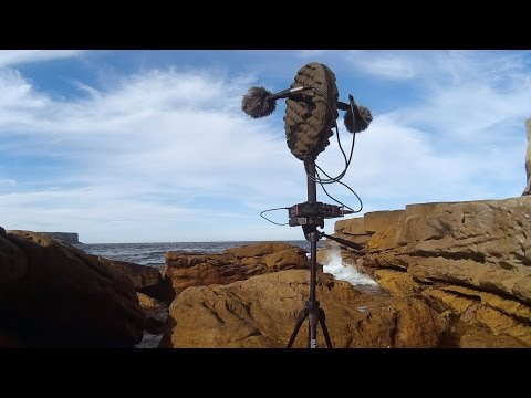 Waves Crashing at South Head, Sydney