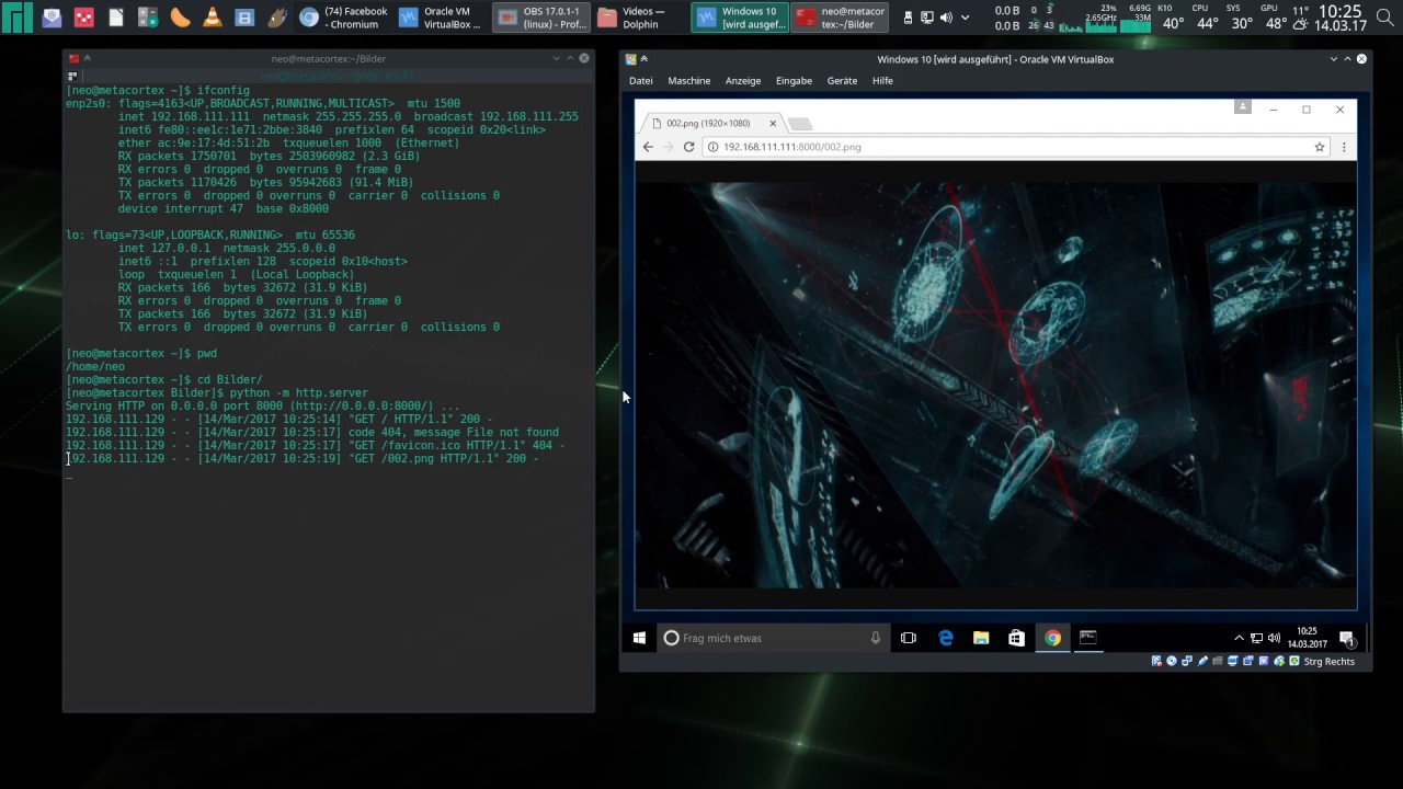 Arch Linux: File Sharing In 10 Seconds