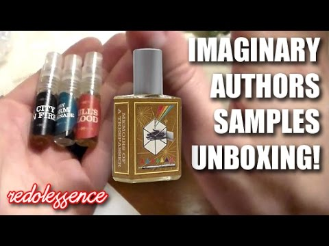 Imaginary Authors Samples Unboxing!