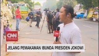 Gambar cover Situasi Jelang Pemakaman Ibunda Presiden Jokowi