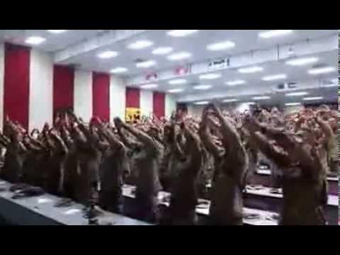 America's Marines Singing 'Days of Elijah'