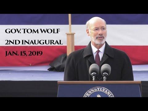 Pennsylvania Gov. Tom Wolf starts his second term