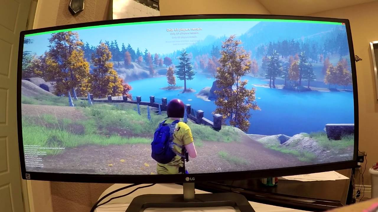 Jahova's New Setup! HUGE New Monitor! (LG Curved 34