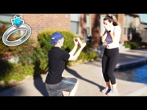 I FINALLY ASKED HER... 💍