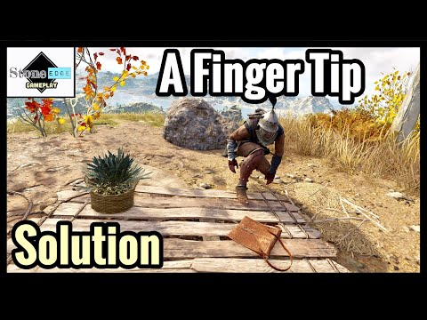 Assassin's Creed Odyssey - A FINGER TIP Guide / Solution / Location [Ainigmata Ostraka]
