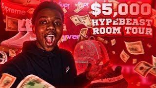 MY 5000 DOLLAR HYPEBEAST ROOM TOUR CRAZY