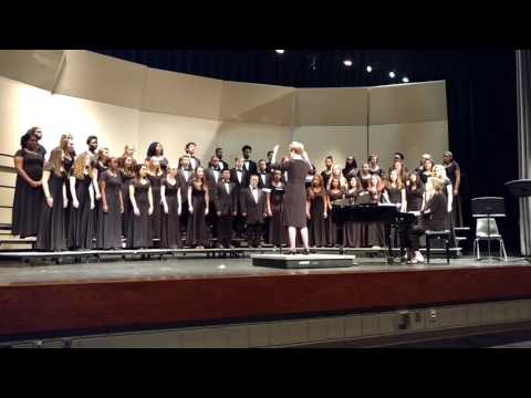 Northern Guilford High School chorus March 2, 2017