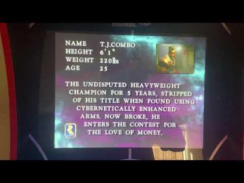 Killer Instinct arcade on raspberry pi4 Arcade1up mod from Insanehardgainer