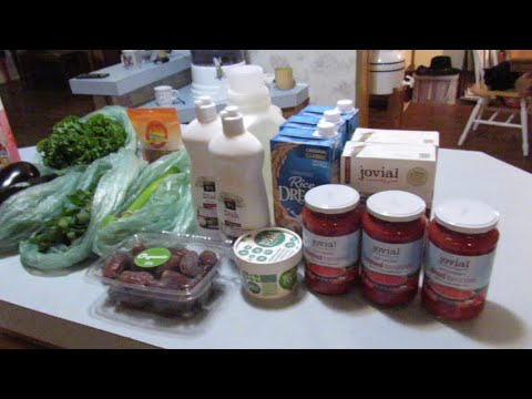 Vegan (Plant-Based) Grocery Haul~Whole Foods Market, Costco (Jan. 28, 2018)