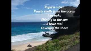 Pearly Shells Hawaiian music