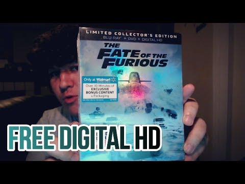 Fate Of The Furious Limited Collector's Edition Unboxing and Review! (HD Download)